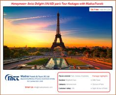 Paris Tour Packages from Chennai, Thinking to spend your upcoming vacations in Paris. Book now MadrasTravels Paris customize tour packages at best prices.