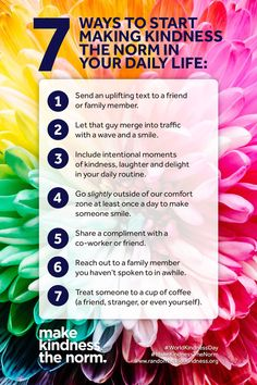 What was your small act of kindness today? Here are some ideas on making kindness the norm in your daily life ❤️ Make You Feel, How Are You Feeling, Let It Be, World Kindness Day 2019, Daily Challenges, National Institutes Of Health, 1 An, How To Better Yourself, Social Skills