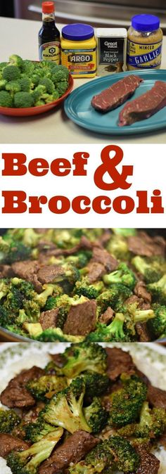 Delicious Beef And Broccoli Made At Home! Why go out when you can make it at home? #easy #recipes #beef #broccoli #maindish