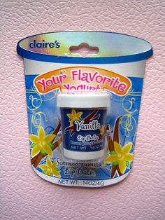 Claire's Your Favorite Yoghurt Lip Balm Vanilla