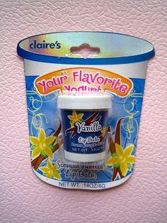 Claire's Your Favorite Yoghurt Lip Balm Vanilla