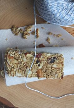 seed and oat granola bar