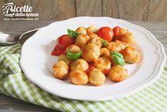 Gnocchi, Pasta Recipes, Cooking Recipes, Risotto, Potato Salad, Delish, Potatoes, Dishes, Vegetables