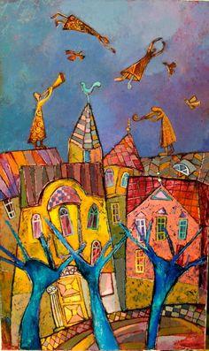 Nina Zlateva - oil, canvas