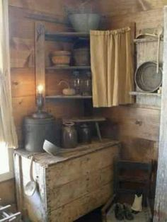Great primitive box and display