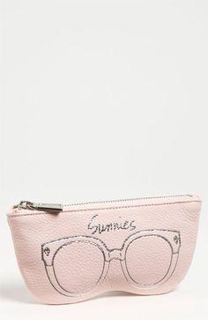 Rebecca Minkoff Leather Sunglasses Case | Nordstrom