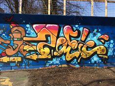 Zombie piece, Graffiti