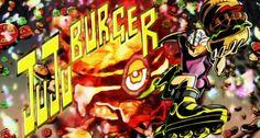 JuJu Burger Game Title by Byudha11