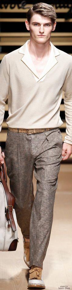 Salvatore Ferragamo Spring 2015 Menswear
