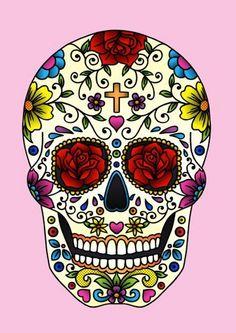 #Skull #BedRoses