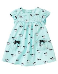 Gymboree Polka Dot Puppy Dress Size 18 24 months Dog