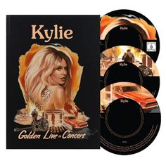 Kylie - Golden Live In Concert (Deluxe Edition) - TM Stores Dolby Digital, Kylie Youtube, Devil You Know, Live Cd, Lost Without You, Kylie Minogue, Love At First Sight, Believe, Tours