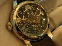 HD Video of the Girard-Perragaux - Constant Escapement L.M. | Original Watch Videos | Watch You Go