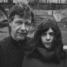 Álvaro Enrigue and Valeria Luiselli