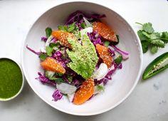 what's in season: winter - citrus salad — The Crunchy Radish