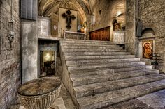 Abbey of Saint Eutizio, Preci, Umbria, Italy