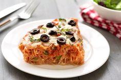 Hungry Girl's Healthy Spaghetti Squash Pizza Pie Recipe