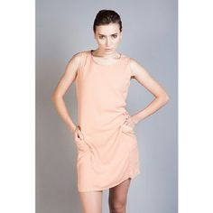 .Billy dress in peach by @NEFERTITI IDR278- 15% off! (Available in peach, nude, grey)