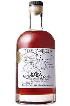 4a91d3e3123 Deep Mountain maple syrup - illustrative label design