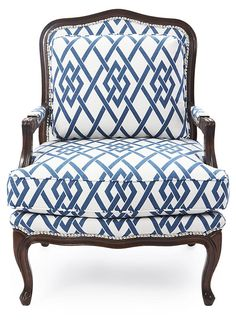 So Blue~One Kings Lane - Lounge Around - Harper Bergère