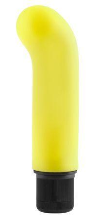 Neon jr. g-spot softees - gul fra NEONLuvTouch - Sexlegetøj leveret for blot 29 kr. - 4ushop.dk - Få øjeblikkelig nydelse i bruseren eller karbadet med denne multi-speed Neon Jr. G-Spot Softee vibrator fra Pipedream. Lad ikke den lille størrelse narre dig - den har masser af krafter til at give dig spænding både under og over vandet. Bare drej knappen og vælg den hastighed som passer dig.