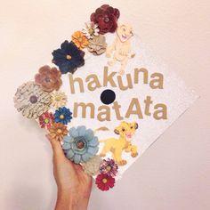 Hakuna Matata graduation cap decoration