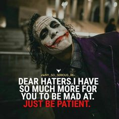 Most memorable quotes from Joker, a movie based on film. Find important Joker Quotes from film. Joker Quotes about who is the joker and why batman kill joker. Joker Qoutes, Joker Frases, Best Joker Quotes, Badass Quotes, Heath Ledger Joker Quotes, Joker Heath, Joker Joker, Sarcastic Quotes, True Quotes