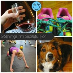 What totally random things are you grateful for? FBG Jenn shares 26 things (including burpees) to give thanks for. | Fit Bottomed Girls