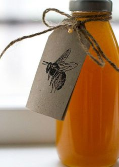 Packaging para miel: juguemos con las tipografías y el color negro!