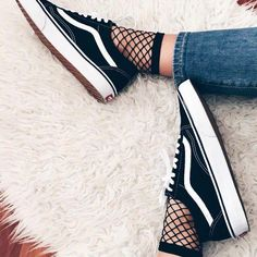 Trend Alert: Fishnet Fever We've always envied the rad Vans Girls who rock fishnets in their everyday wardrobe, and we're so inspired to give this trend a try. Ever since we interviewed Refinery 29...