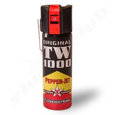 TW1000 Pepper Jet Weitstrahl Pfefferspray - Inhalt 63ml    - Reichweite bis 5m -