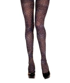 Loving this Floral and animal print design pantyhose on #zulily! #zulilyfinds