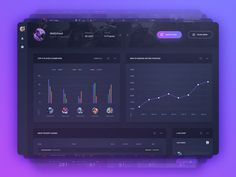 Game dashboard by uixBandit #Design Popular #Dribbble #shots