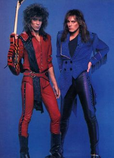 George Lynch and Don Dokken