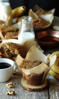 Banana Buckwheat Muffins Recipe