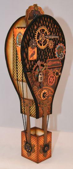 Down under crafter: Steampunk Spells Hot Air Balloon