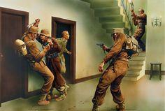 Operación Flipper, Noviembre de 1941 comandos británicos intentaron capturar o asesinar a Rommel. Peter Dennis. Desembarcaron en la costa libia provenientes de dos submarinos unos 30 hombres, que se adentran en Beda Littoria pensando que era el Cuartel General Alemán, cuando en realidad era la Dirección de Intendencia. Más en www.elgrancapitan.org/foro/
