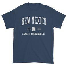 Vintage New Mexico NM T-Shirt Adult - JimShorts