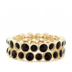 Stone Stretch Bracelet Set