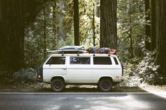 Model: VW T3 Syncro / Location: Highway 101, CA / Photo: Foster Huntington