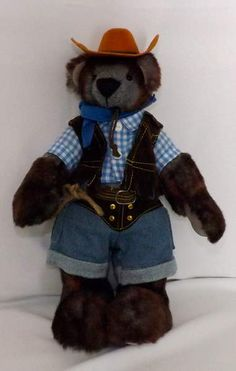 Cowboy Joe by Beezlee's Bears