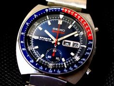 SEIKO 5SPORTS SpeedTimer- Domestic first automatic winding chronograph movement , 1969,5