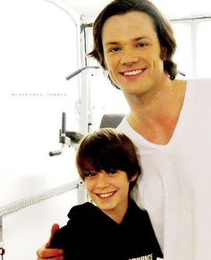 young sam + old sam. the supernatural casting directors must be proud of themselves.