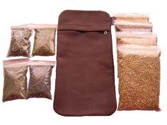 sacos térmicos lavables con cremallera apta para microondas