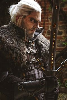 Maul cosplay - Geralt of Rivia                                                                                                                                                                                 More