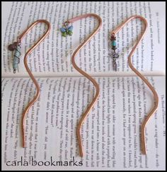 Bookmarks, great idea for my kids class!!