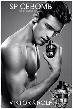 Spice Boy-American model Sean O'Pry is the face of the new addictive fragrance for men from Dutch fashion designers Viktor & Rolf.Captured by photographers duo Inez van Lamsweerde and Vinoodh Matadin, the Georgia-born male model poses for a shirtless black & white shot, holding the grenade-shaped bottle of the fragrance, designed by Fabien Baron. Enjoyed...[ReadMore]