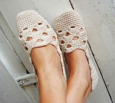 Crochet espadrilles, a love affair