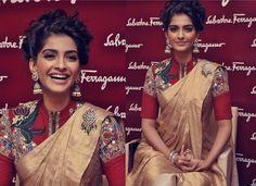 5 Unique Must Have Saree Blouse Styles - Front Zipper Style Blouse