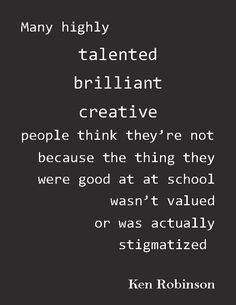 Talents beyond typical IQ